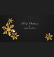 background shiny snowflakes vector image vector image