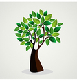 Cute tree hand drawn vector image vector image