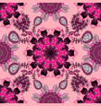flowers on neutral pink and black colors vector image
