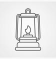 Lantern icon sign symbol