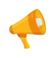 Megaphone icon Communication design vector image vector image
