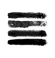 watercolor torchon normal brushes set vector image vector image