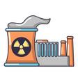 atomic reactor icon cartoon style vector image vector image