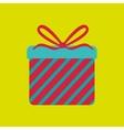 gift box design vector image vector image