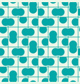 graphic simple ornamental tile repeated pattern vector image vector image