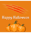 Wallpapers for the holiday Halloween vector image