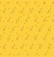 seamless pattern background giraffe vector image