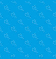 axe pattern seamless blue vector image vector image
