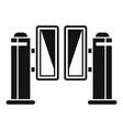 control turnstile icon simple style
