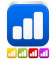 growing bar-chart bar-graph icon graphics vector image