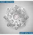 Holiday christmas background with silver jewelry vector | Price: 1 Credit (USD $1)