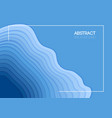 summer background overlap blue waves vector image