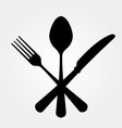 Black cutlery vector | Price: 1 Credit (USD $1)