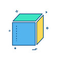 box delivery closed icon design vector image vector image