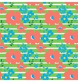 Floral pattern in doodle style vector image vector image