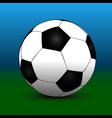 Green blue futball background vector image
