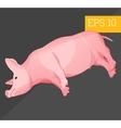 piggy isometric vector image vector image