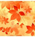 Seamless Autumn Leaf Fall Pattern vector image vector image