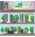 set of construction and repairing house vector image vector image