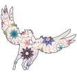 Vintage Pegasus vector image