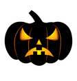 abstract halloween pumpkin vector image