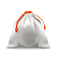 Cloth bag vector image vector image