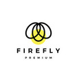 firefly logo icon vector image vector image