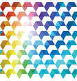 Pattern of geometric shapes Colorful mosaic vector image vector image