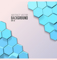 abstract geometric mosaic template vector image vector image