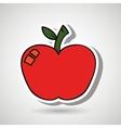 apple icon design vector image vector image