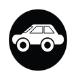 car symbol icon vector image vector image