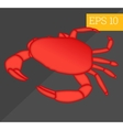 crab isometric vector image