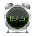 Digital alarm clock vector | Price: 1 Credit (USD $1)