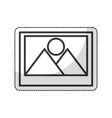 file picture isolated icon vector image vector image