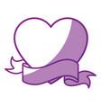 heart icon image vector image vector image
