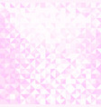 light pink and white pattern vector image vector image