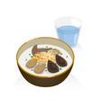 porridge vector image vector image