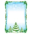 fraim tree vector image vector image