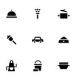 household services simple glyph style icons vector image vector image