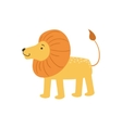 Lion Stylized Childish Drawing vector image vector image