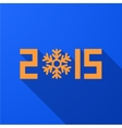 modern new year 2015 background vector image vector image