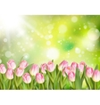 Spring Easter background EPS 10 vector image vector image