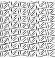 Ink drawing triangles simple background seamless vector image
