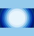 blue stack circle abstract background with copy vector image vector image