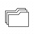 documents icon design vector image vector image