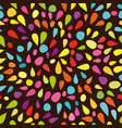 festive seamless pattern with colorful paint vector image vector image