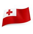 Flags icon Tonga 01 vector image vector image