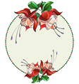 flora3 w vector image vector image