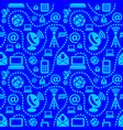 internet seamless pattern vector image