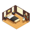 Isometric Luxury Interior vector image